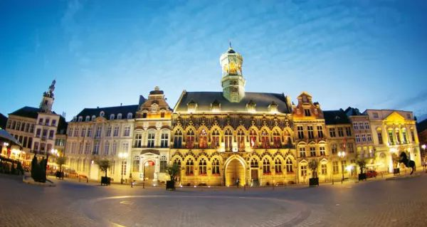 مدينة مونس من اجمل اماكن سياحية في بلجيكا