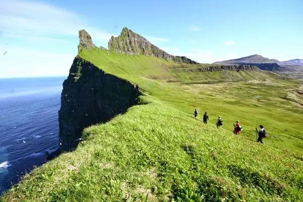 محمية هورنستراندير الطبيعية من اجمل اماكن سياحيه في ايسلندا