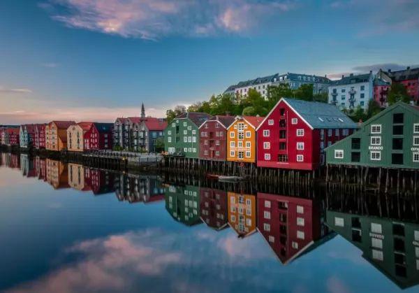 مدينة تروندهايم من اجمل اماكن سياحية في النرويج