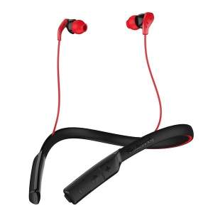 Skullcandy Method Bluetooth Wireless Sport Earbuds with Mic Swirl Gray Red (100% Original with Brand warranty)-0