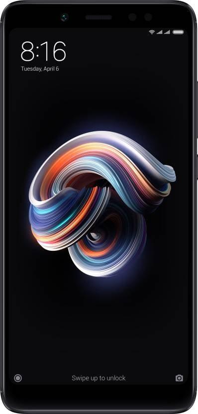 Redmi Note 5 Pro 4GB RAM 64GB Internal Memory (Black) Mobile Phone-0
