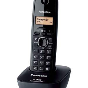 Panasonic Single Line 2.4 KX-TG3411SX Digital Cordless Phone (Black)-0