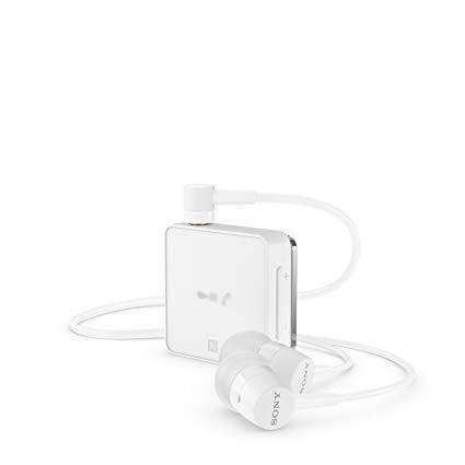 Sony SBH-24 Wireless Stereo Headphones with Google Siri Compatibility (White)-0