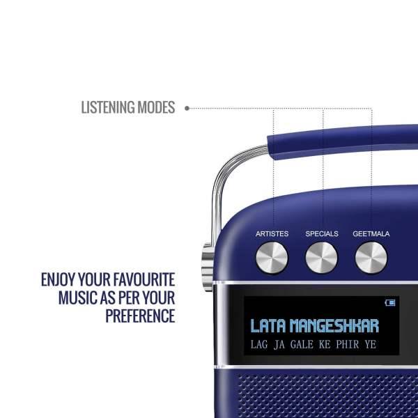 Saregama Carvaan Premium Portable Digital Music Player (Royal Blue)-5845