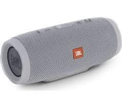 JBL Charge 3 Powerful Portable Speaker (Grey)-0