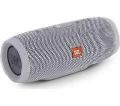 JBL Charge 3 Powerful Portable Speaker (Grey)-0