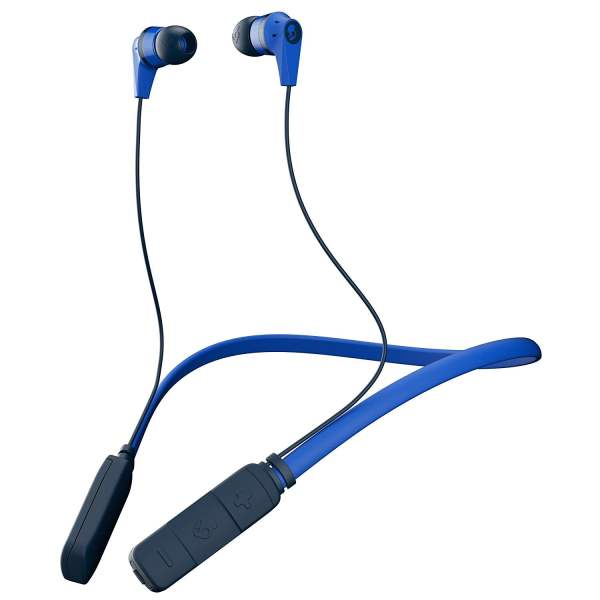 Skullcandy S2IKW-J569 Ink'd Bluetooth Wireless in-Ear Earbuds with Mic (Royal Blue) (100% Original with Brand warranty)-0