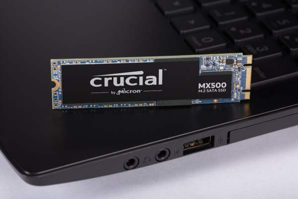 Crucial MX500 500GB M.2 Type 2280 SSD-7225