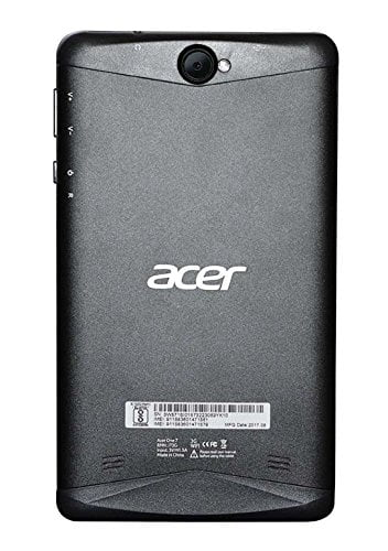 Acer One 7 Tablet (7 inch, 8GB, Wi-Fi + 3G, Voice Calling), Black-7603