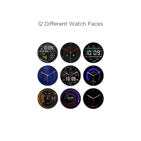 Amazfit Verge IP68 Phone Call Smart Watch (Blue)(Packing Damage Only)-7625