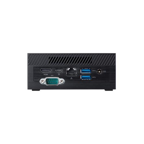 ASUS PN40 Ultra-Compact Mini PC with Intel Celeron N4000 Processor/Intel UHD Graphics 600 / DDR4 RAM/Dual Storage / 4K UHD Support/USB 3.1 Gen 1 Type-C (PN40-BBC203MV)(RAM, M.2 Storage not Included) Black-9322