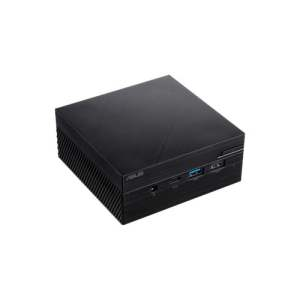 ASUS PN40 Ultra-Compact Mini PC with Intel Celeron N4000 Processor/Intel UHD Graphics 600 / DDR4 RAM/Dual Storage / 4K UHD Support/USB 3.1 Gen 1 Type-C (PN40-BBC203MV)(RAM, M.2 Storage not Included) Black-0