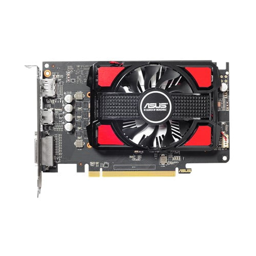 ASUS Radeon RX 550 4GB GDDR5 is the best for compact PC build-9397