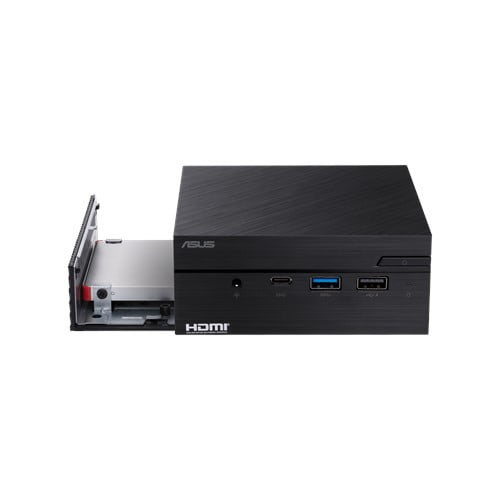 COMBO ASUS PN40 Ultra-Compact Mini PC with Intel Celeron N4000 Processor/Intel UHD Graphics 600 / 4GB DDR4 RAM/ 128GB M.2 SSD / 4K UHD Support/USB 3.1 Gen 1 Type-C (PN40-BBC203MV) Black-9548