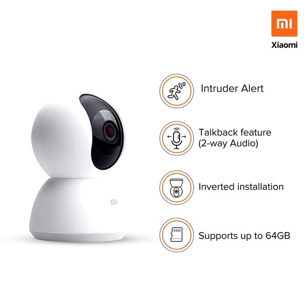 Mi 360° 1080p Full HD WiFi Smart Security (4)
