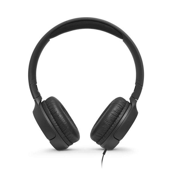 JBL Tune 500 Powerful Bass On-Ear Headphones with Mic
