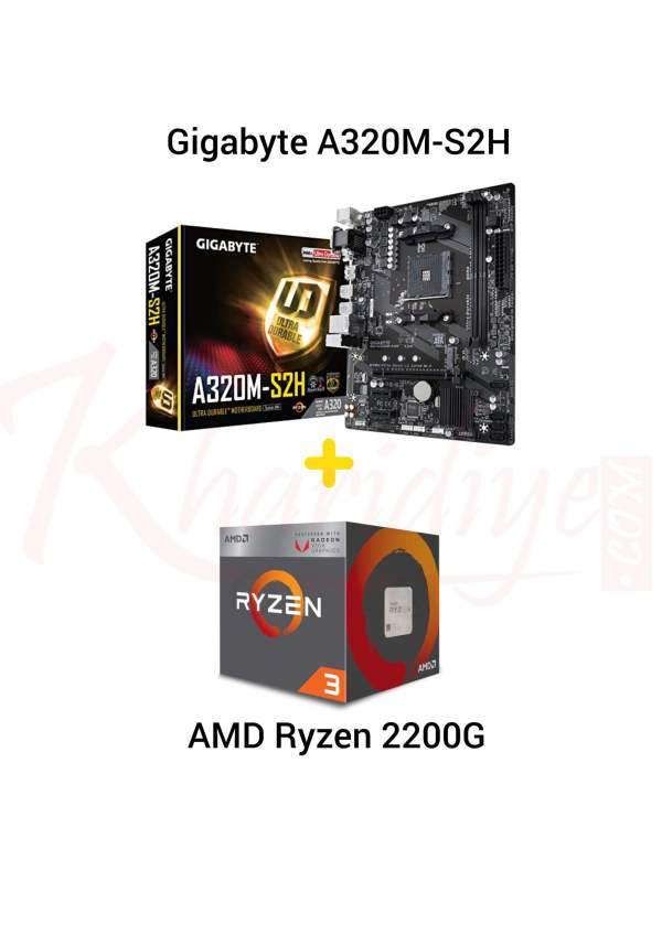 GIGABYTE B450M AORUS Elite Motherboard + AMD Ryzen™ 3600 Processor