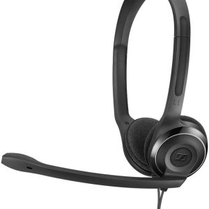 Headphone with black color
