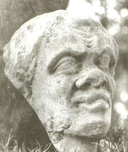 Stolen medieval head from Kenilworth Priory
