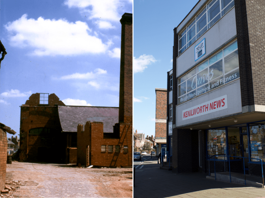 The Tannery, Warwick Road 1965 and today in 2016