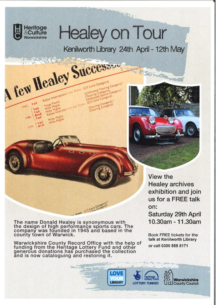 Healey Poster