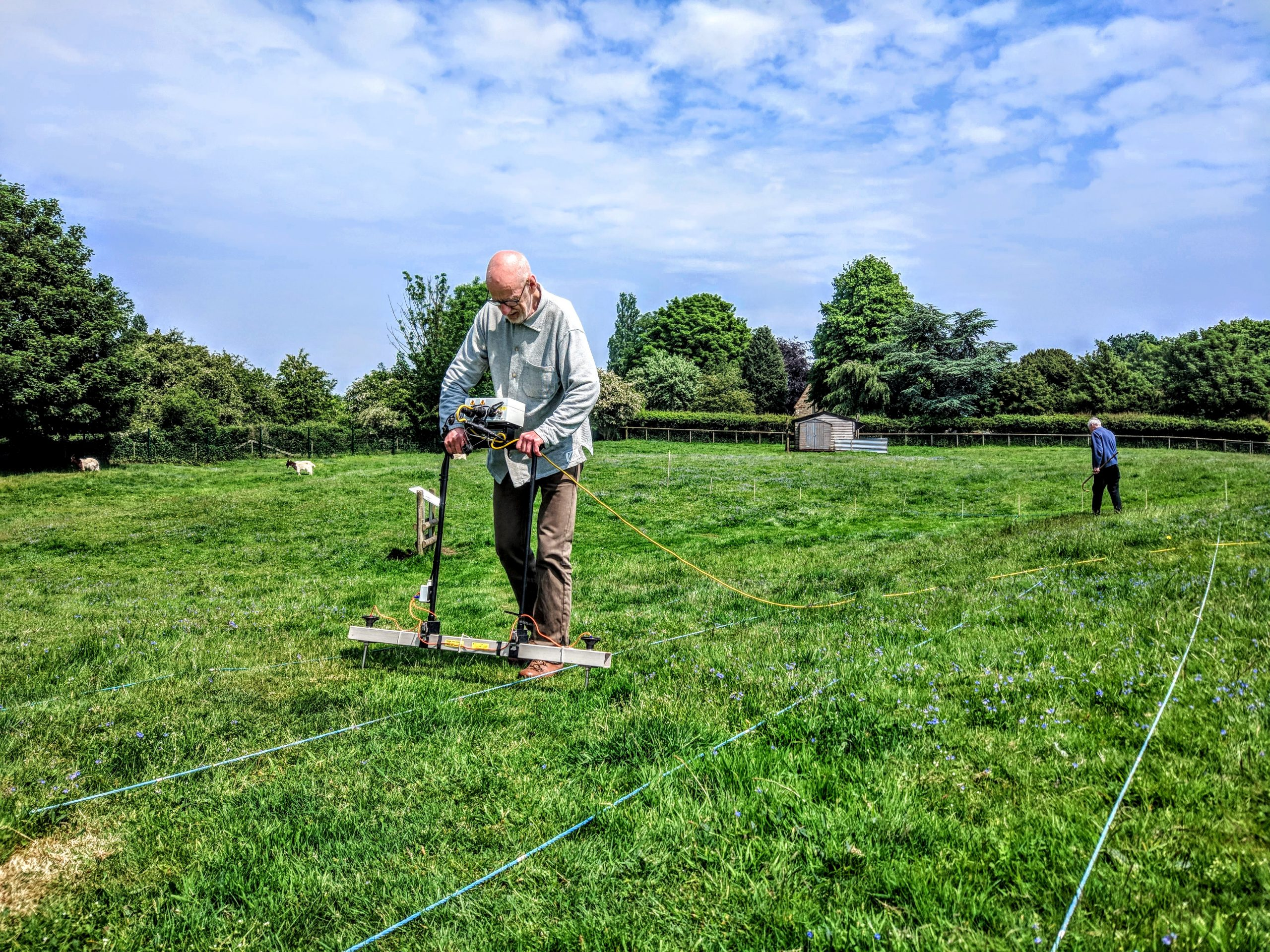 Bagot's Castle Resistivity Survey, May 2018