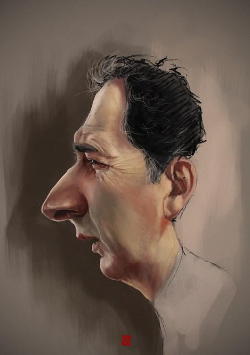 Francois Morel caricature par Khasis Lieb