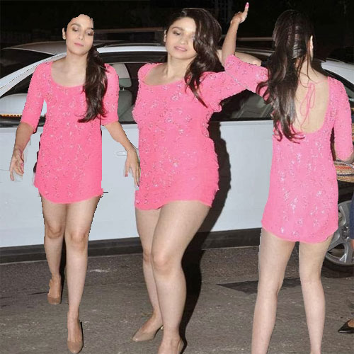Alia का हॉट Pink look Alia Hot Pink Look