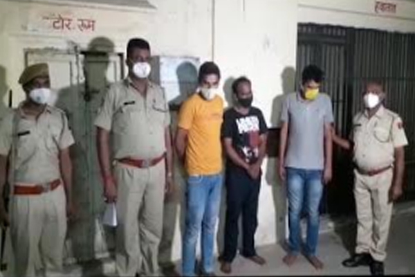 Theft in artificial jewelery showroom in Jaipur, Kundan Meena worth 9 lakhs recovered from three arrested employees