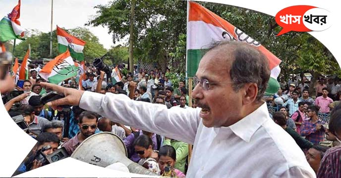 Adhir Ranjan stabbed Modi-Didi in the election rally