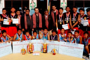 SEB And HHCA Clinched The Title of 6th Nerik Cup Inter-School Basketball Tournament - Khel Dainik