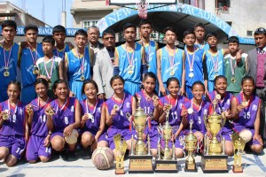 Xenium National Academy and New Vision Academy Wins 1st FISM Cup Inter-School Basketball Tournament - Khel Dainik