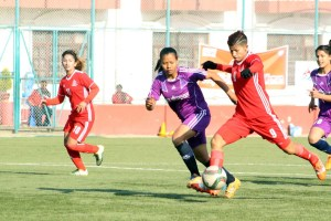 Goal galore in National Women's League as APF and Army bag impressive wins - Khel Dainik