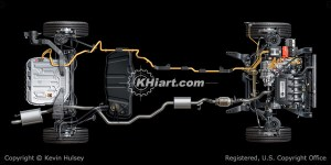 Hybrid cars, FCHV, ev electric cars, and alternative