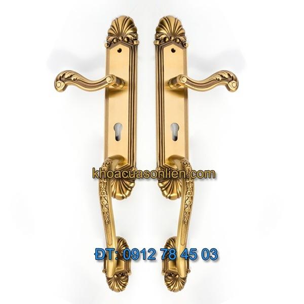 Báo giá khoá cửa đại sảnh TD BPH-226726-2 được sản xuất bằng đồng thau