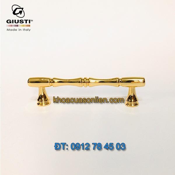 Nơi bán mẫu Tay trúc mạ vàng 24K WMN766.096.00GP 96mm của Giusti nhập khẩu Italy giá rẻ tại Hà Nội