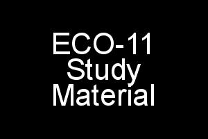 ECO-11 Study Material Elements of Income-Tax (In Single PDF File)