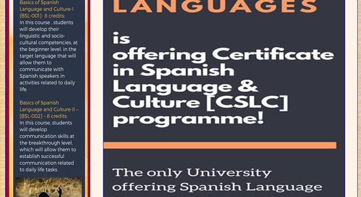 IGNOU Certificate in Spanish Language and Culture (CSL)
