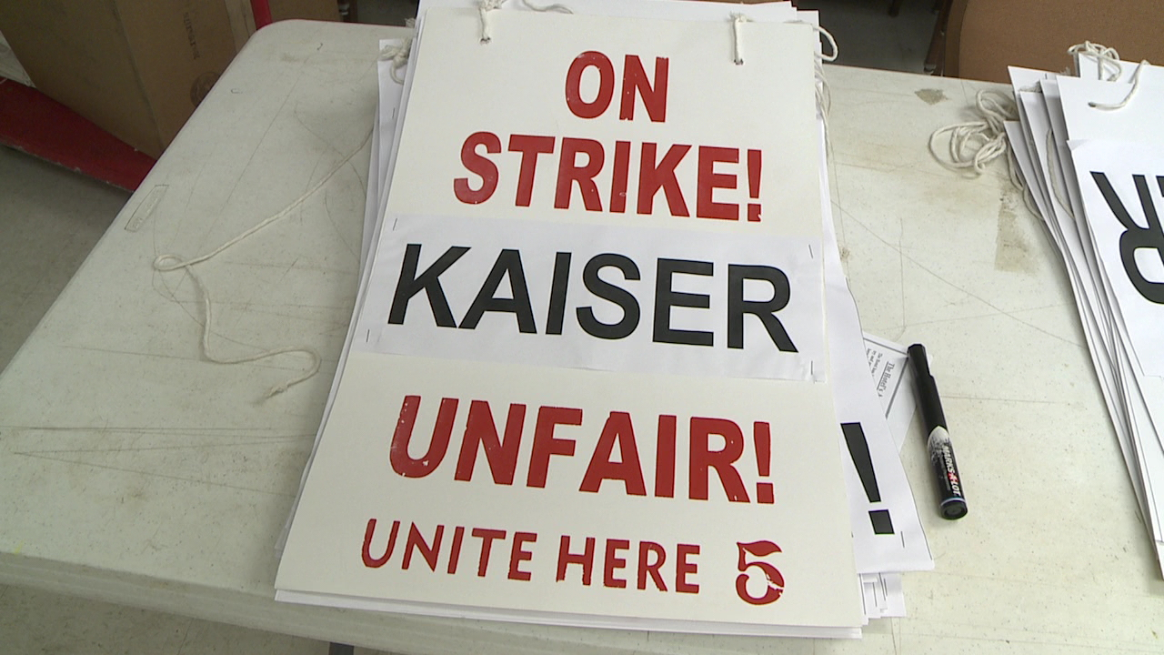 local 5 kaiser strike sign_76455