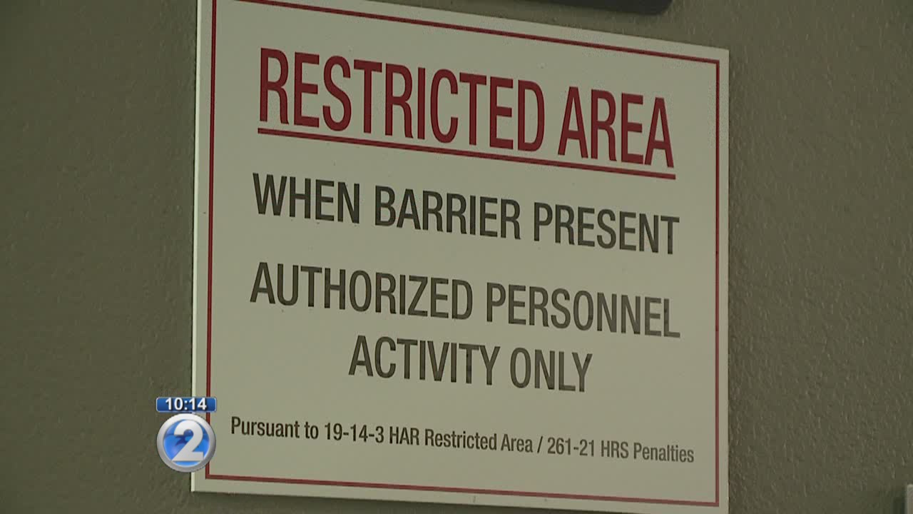 Citations given during airport lobby overnight closures