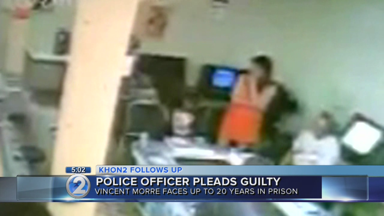 Honolulu police officer pleads guilty in gambling raid attack