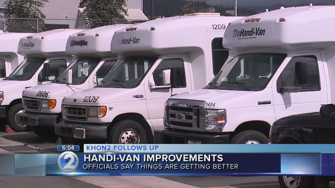 Handi-Van outlines plans to improve system, shorten delays