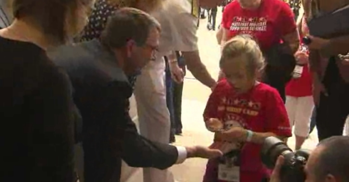 pentagon children honored_96291