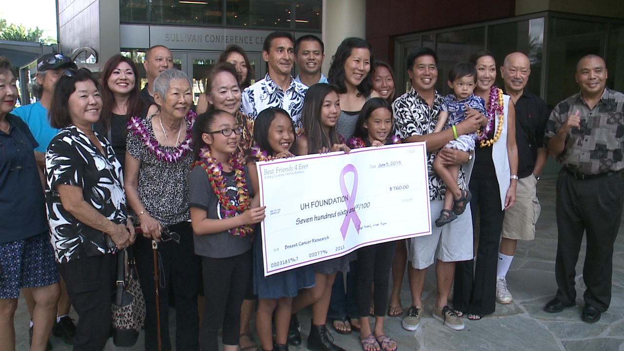 6-5 KIDS RAISE MONEY FOR UH CANCER CENTER_98465