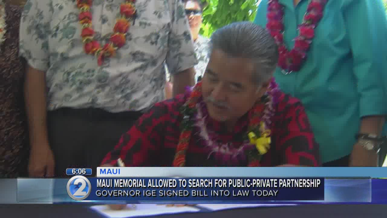 Governor signs Maui healthcare reform bill into law