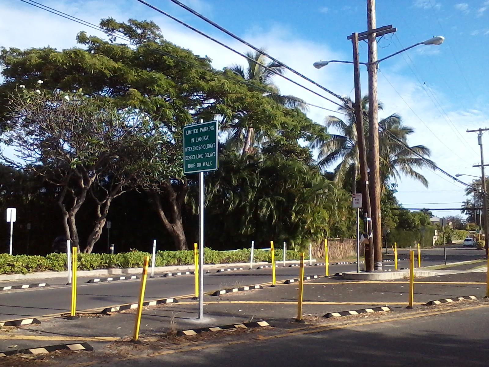 Lanikai Sign from Kailua Rd 2_79469