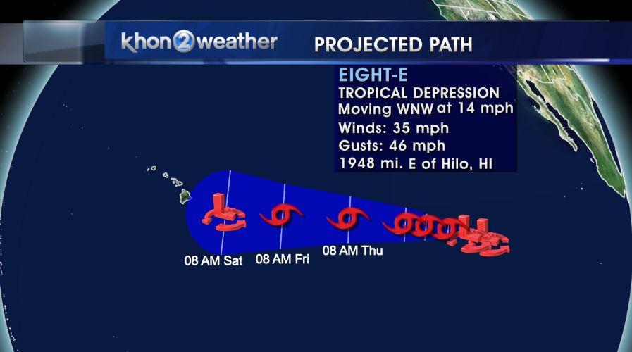 tropical depression 83 track 0727_107479