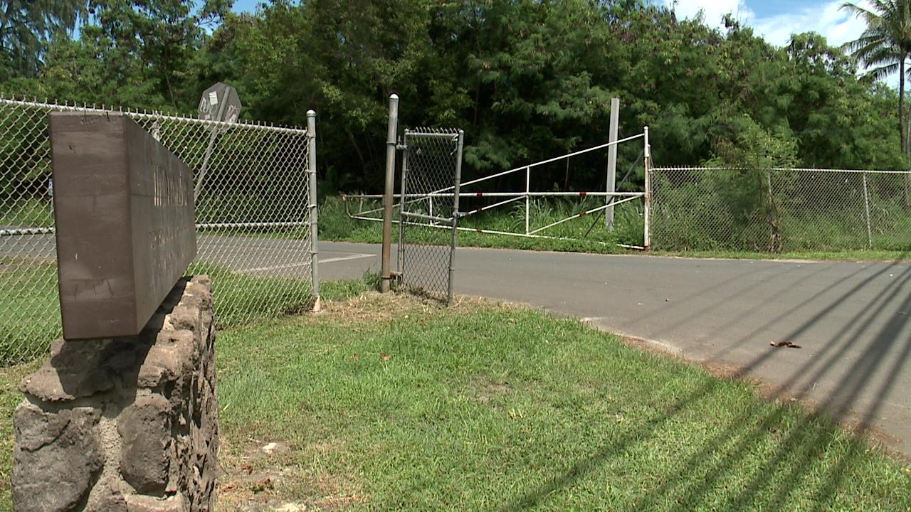sherwoods campsite access gate lock_115240