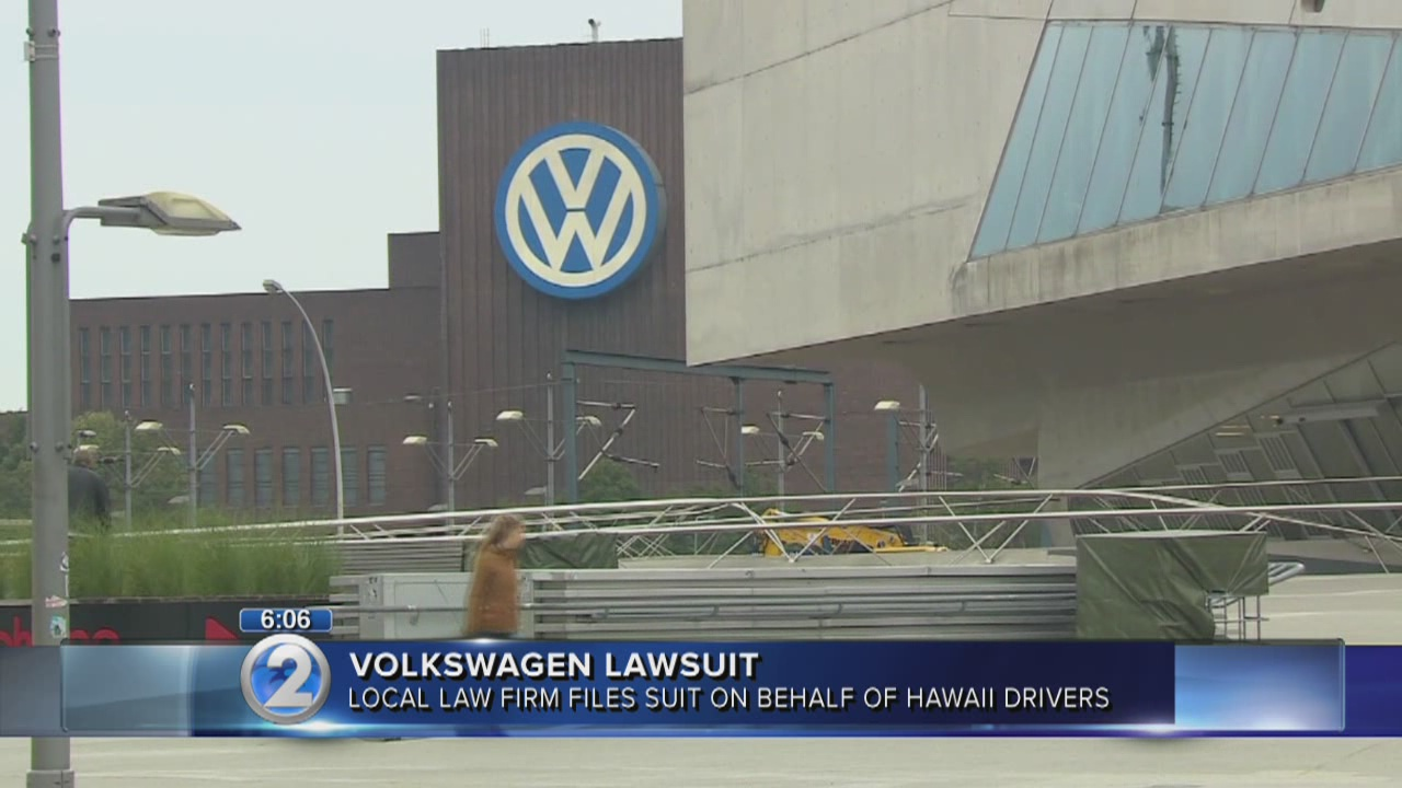 Hawaii firm files class action lawsuit against Volkswagen