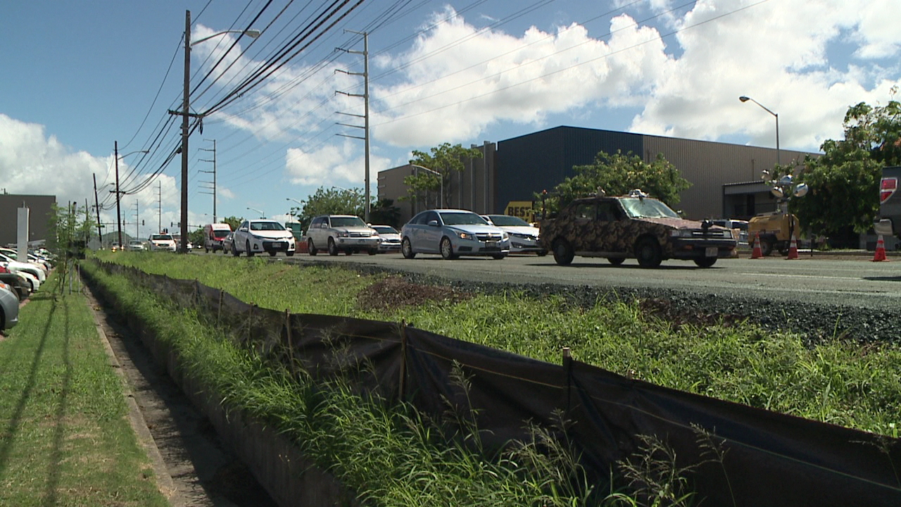 kamehameha highway traffic_124981